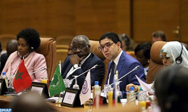 بوريطة : الأجندة الإفريقية حول الهجرة تتوخى جعل قضية الهجرة رافعة للتنمية المشتركة وركيزة للتعاون جنوب-جنوب