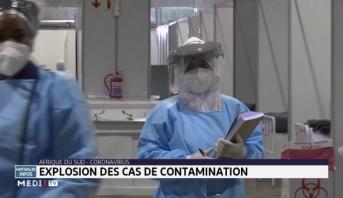 Afrique du Sud-Coronavirus: explosion des cas de contamination