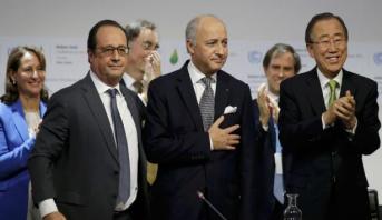Le président français salue la ratification par la Chine et les Etats-Unis de l'Accord de Paris sur le climat