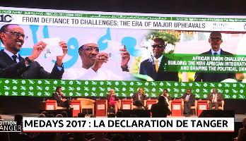 MEDays 2017: Adoption de la 10è Déclaration de Tanger plaidant pour un partenariat euro-africain d'égal à égal