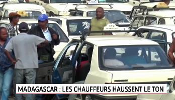 Madagascar: les chauffeurs de taxis haussent le ton