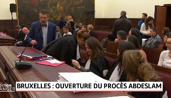 Bruxelles: ouverture du procès Salah Abdeslam