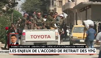Syrie: les enjeux de l'accord de retrait de la milice kurde YPG de Minbej