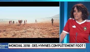Mondial 2018: Des hymnes complètement Foot!
