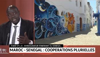 Fodé Sylla invité de Medi1tv Afrique. Maroc - Sénégal .. Coopérations plurielles