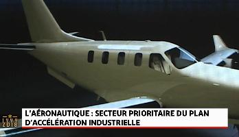 L'aéronautique: secteur prioritaire du plan d'accélération industrielle