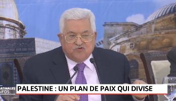 Palestine: un plan de paix qui divise