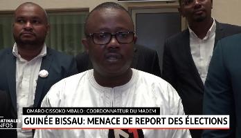 Guinée Bissau: menace de report des élections