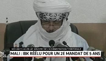 Mali: IBK réélu pour un 2ème mandat de 5 ans