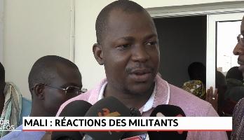 Mali: réactions des militants