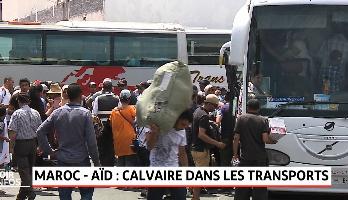 Maroc - Aïd: calvaire dans les transports