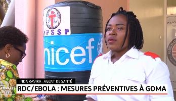 Ebola en RDC: mesures préventives à Goma