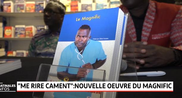"""""""Me rire Cament"""": nouvelle œuvre du magnific"""