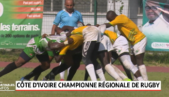 La Côte d'Ivoire championne Régionale de Rugby
