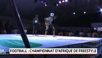 Football: championnat d'Afrique de Freestyle