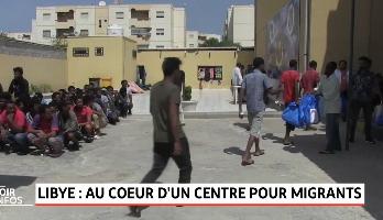 Libye: au cœur d'un centre pour migrants