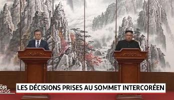 3éme sommet inter-coréen: les décisions clés