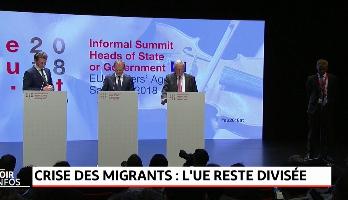 Crise des migrants .. L'UE reste divisée