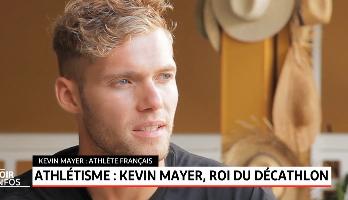 Athlétisme .. Kevin Mayer, roi du décathlon