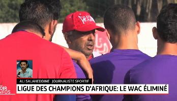 Ligue des champions d'Afrique: le WAC éliminé