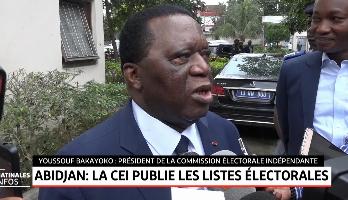 Abidjan: la CEI publie les listes électorales