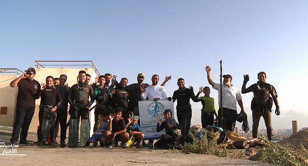روبورتاج .. مبادرة شباب اختاروا الغوص لتنقية أعماق البحر والأنهار