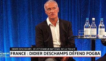 France: Didier Deschamps défend Pogba