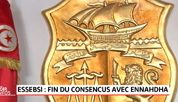 Essebsi: fin du consencus avec Ennahda