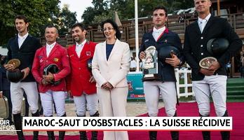 Maroc - saut d'obstacles: la Suisse récidive