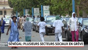 Sénégal: plusieurs secteurs sociaux en grève
