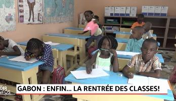 Gabon: enfin la rentrée des classes