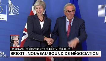 Brexit: nouveau round des négociations