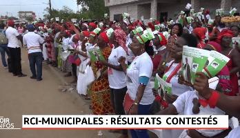 Élections municipales en Côte d'Ivoires: résultats contestés