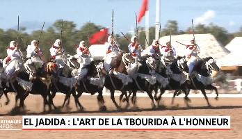 El Jadida: L'art de la Tbourida à L'honneur