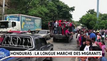 Honduras: la longue marche des migrants