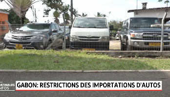 Gabon: restriction des importations de voitures de plus de 5 ans