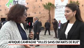 """Campagne """" villes sans enfant de rue"""" - Interview avec Lamia Bazir directrice exécutive de l'ONDE"""