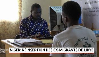 Niger: réinsertion des ex-migrants de Libye