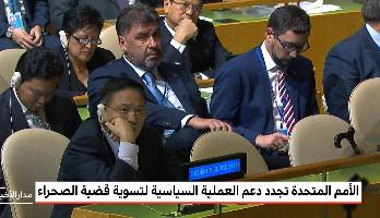 الأمم المتحدة تجدد دعم العملية السياسية لتسوية قضية الصحراء المغربية