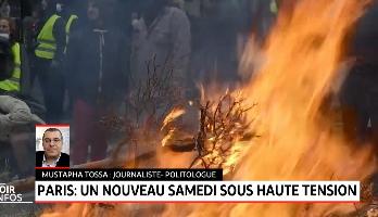 """""""Gilets jaunes"""": un nouveau samedi sous haute tension à Paris"""