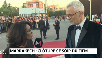Marrakech: clôture du Festival International du Film