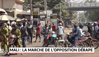 Mali: la marche de l'opposition dérape