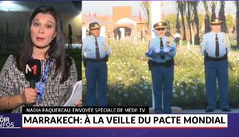 Marrakech: à la veille du pacte mondial