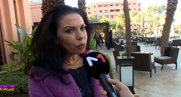 حوار حصري لـ #بيناتنا مع الممثلة سمية أكعبون