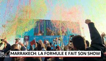 Marrakech: la Formule E fait son Show