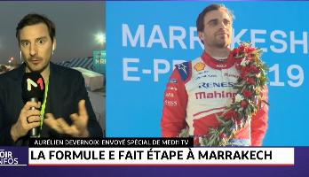 La Formule E fait étape à Marrakech