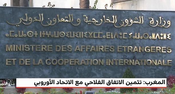 الخارجية المغربية تثمن المصادقة على الاتفاق الفلاحي بين المغرب والاتحاد الأوروبي