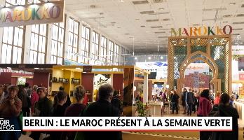 Berlin: le Maroc présent à la semaine verte