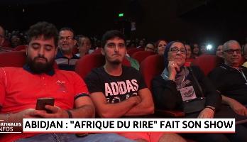 """""""Afrique du Rire"""" : Abidjan ouvre le bal de la 2è édition"""
