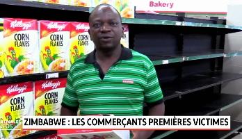 Zimbabwe: les commerçants victimes de la crise